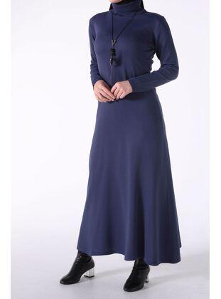 Navy Blue - Plus Size Dresses