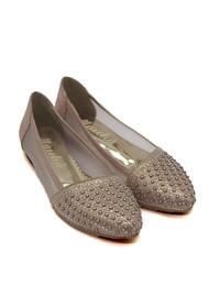 Salmon - Flat - Flat Shoes