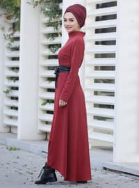 Cinnamon - Polo neck - Unlined - Dress