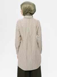 Green - Stripe - Tunic