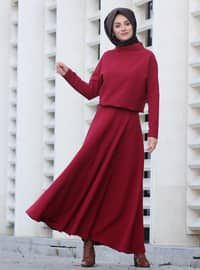 Maroon - Fully Lined - Suit