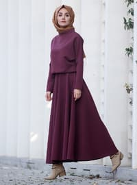 Plum - Fully Lined - Suit
