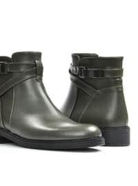 Khaki - Boots