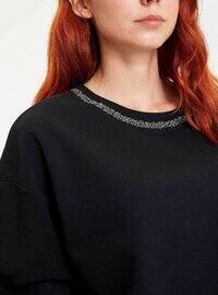 Black - Sweat-shirt