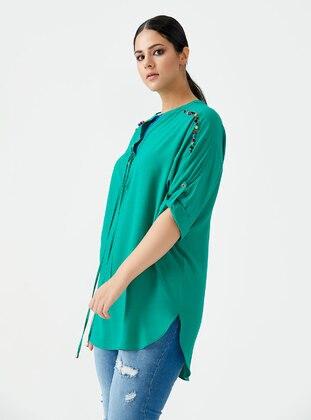Green - Blouses
