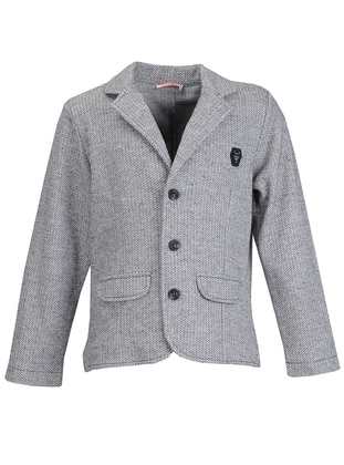 Shawl Collar -  - Fully Lined - Gray - Boys` Jacket
