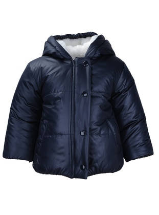 Fully Lined - Navy Blue - Boys` Jacket