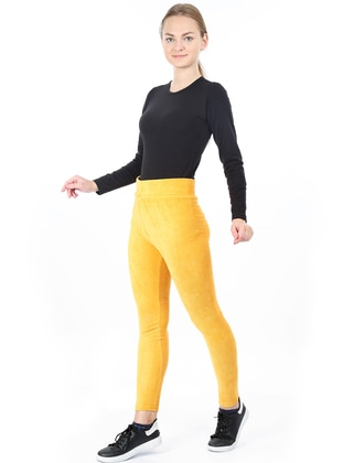 Yellow - - Legging