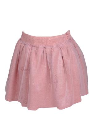 - Unlined - Pink - Girls` Skirt
