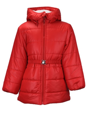 Red - Girls` Coat - Zeyland