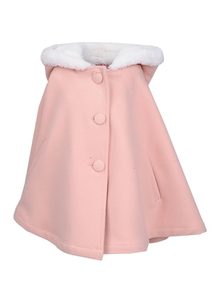 - Unlined - Pink - Girls` Poncho