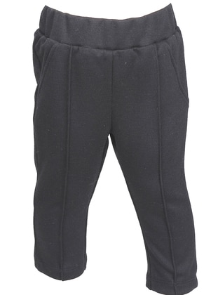 Viscose - Anthracite - Girls` Leggings