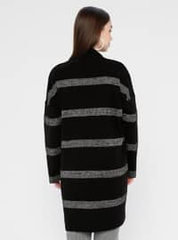 Black - Acrylic -  - Cardigan