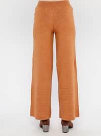 Tan - Acrylic -  - Pants