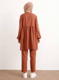 Tuğla - Astarsız kumaş - - Kostüm