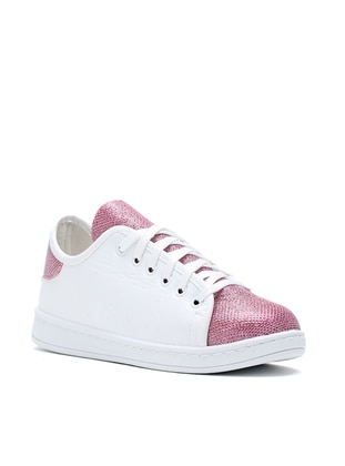 White - Fuchsia - Casual - Shoes