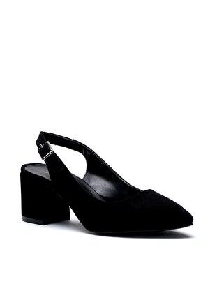 Black - Casual - Heels