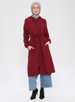 Maroon - Fully Lined - Topcoat