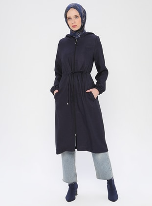 Navy Blue - Fully Lined - Topcoat