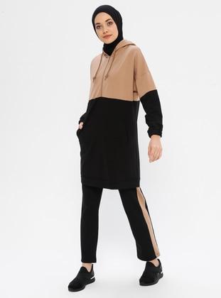 Black - Mink - Unlined -  - Suit