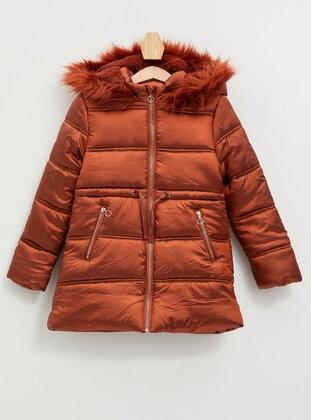Orange - Girls` Jacket - DeFacto
