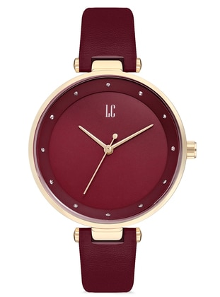 Maroon - Watch - Lady Collection
