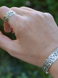 Silver tone - Accessories Set