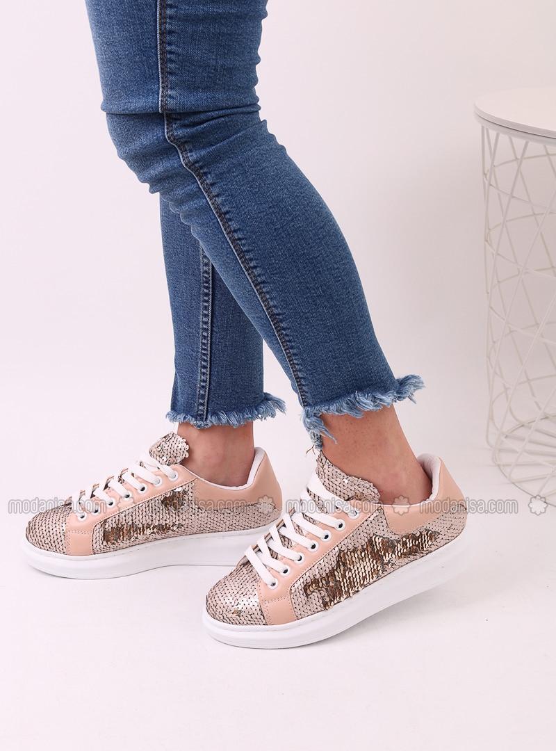 Beige - Sport - Sports Shoes