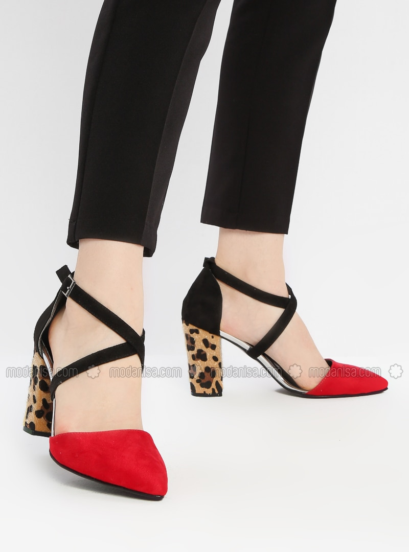 great fit on sale exclusive deals Red - Black - High Heel - Shoes