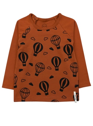 Multi - Brown - Terra Cotta - baby t-shirts
