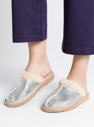 Silver tone - Silver tone - Sandal - Home Shoes
