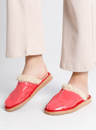 Red - Red - Sandal - Home Shoes