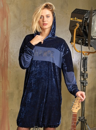 Navy Blue - Loungewear Dresses