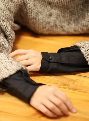 Black - Neckcover
