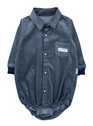 Point Collar -  - Anthracite - Baby Body