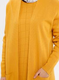 Mustard - Unlined - Acrylic -  - Knit Suits