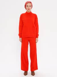 Coral - Unlined - Acrylic -  - Knit Suits