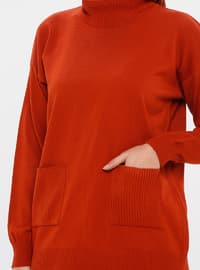 Terra Cotta - Unlined - Acrylic -  - Knit Suits