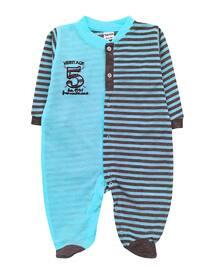 Stripe - Crew neck -  - Blue - Overall