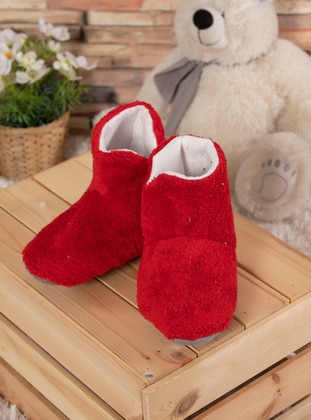 Red - House Booties - Elitol Premium