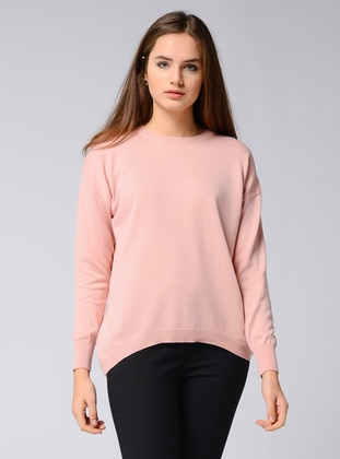 Powder - Crew neck - Acrylic -  - Viscose - Jumper