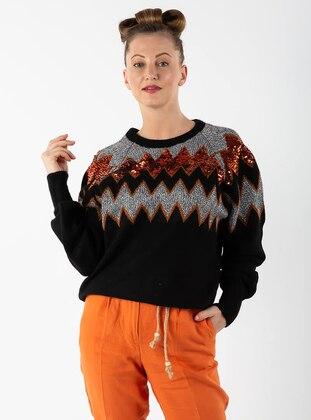 Black - Knit Sweaters