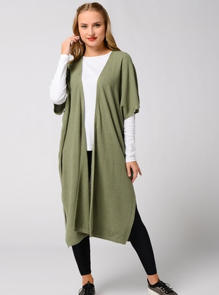 Green - Knit Cardigans