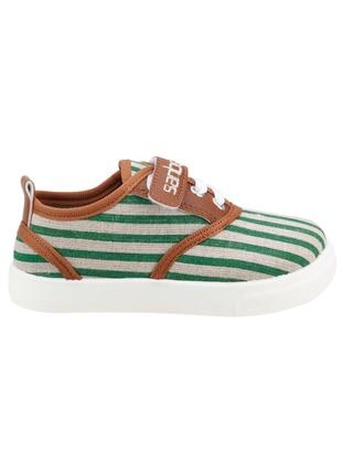 Green - Boys` Slippers