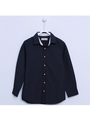 Black - Boys` Shirt
