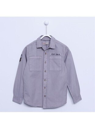 Gray - Boys` Shirt