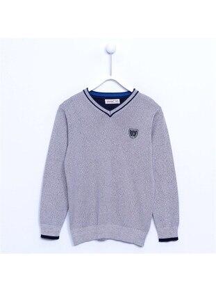 Gray - Boys` Pullover