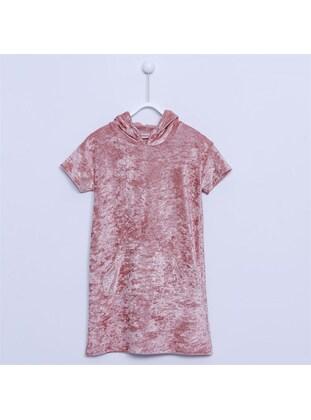 Salmon - Girls` Dress