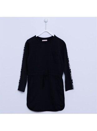 Black - Girls` Dress - Silversun