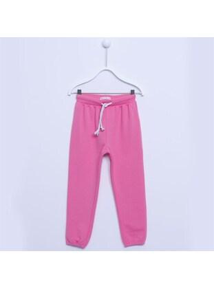 Pink - Girls` Tracksuit - Silversun